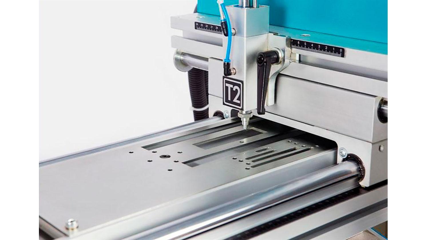 INT aluminum copy router Yilmaz CRM 250 S left tracing pin