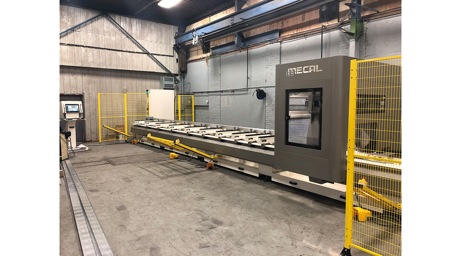 INT aluminum CNC Mecal Ariel Installed in Hamilton ON 1
