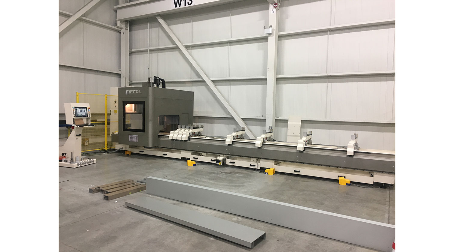 INT aluminum CNC Mecal Ariel Installed in Windsor ON 1