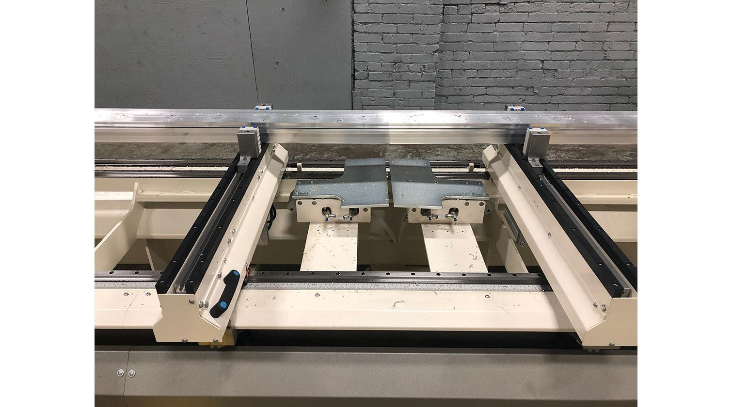 INT aluminum CNC Mecal Ariel intermediate stops 1