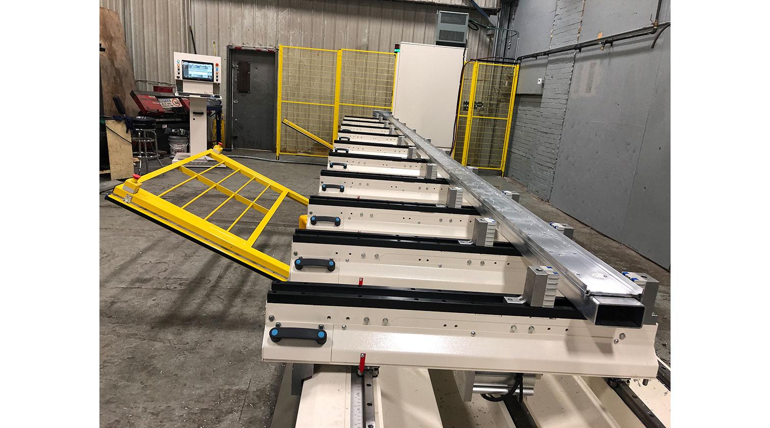 INT aluminum CNC Mecal Ariel safety light barriers 1