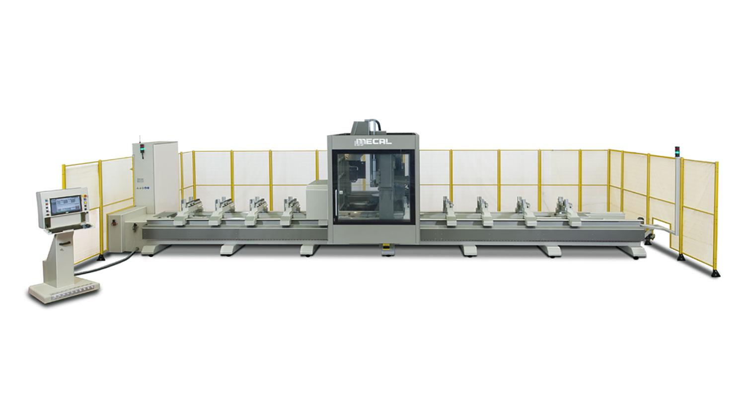 INT aluminum CNC Mecal Geos 5 axes 1