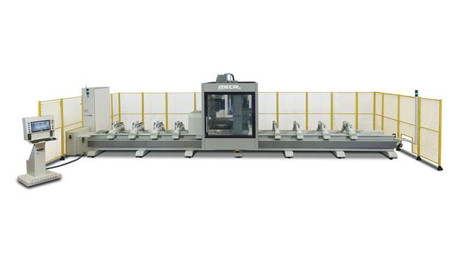 INT aluminum CNC Mecal Geos 5 axes Thumb