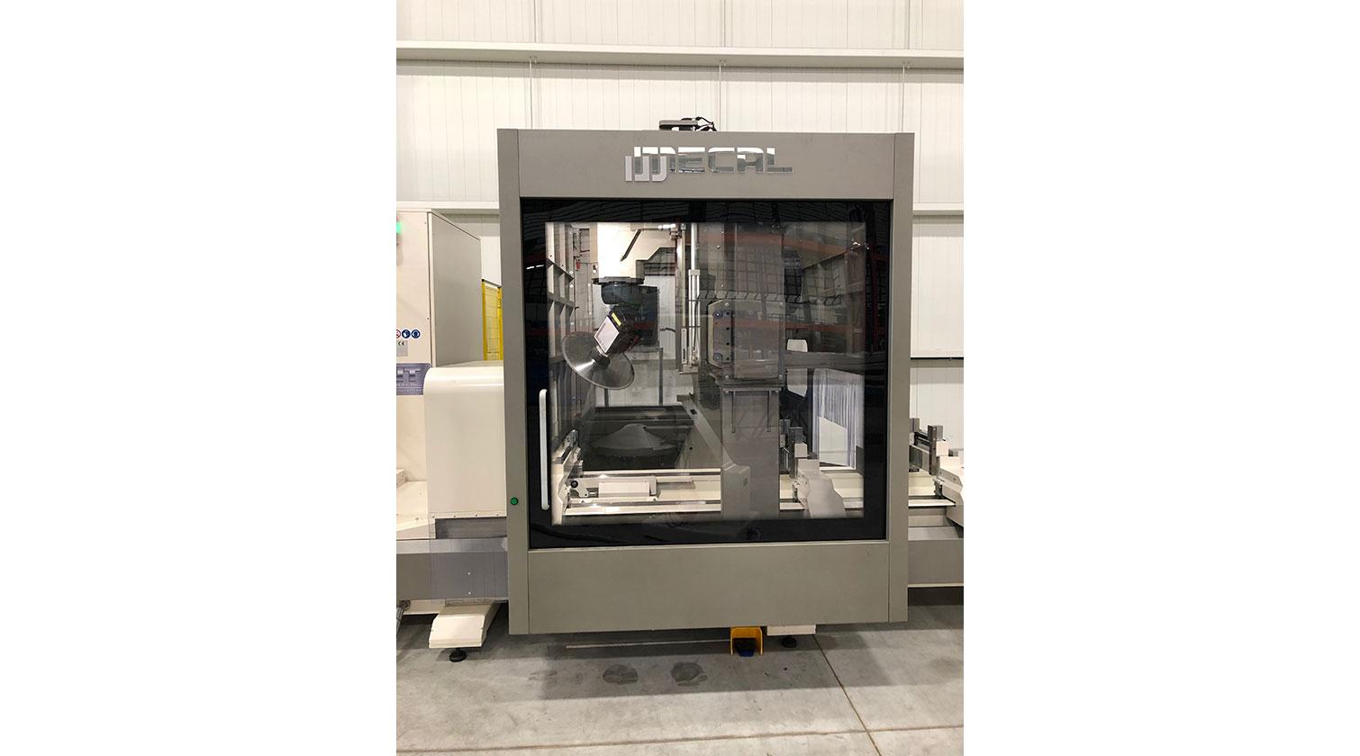 INT aluminum CNC Mecal Geos 5 axes enclosure 1