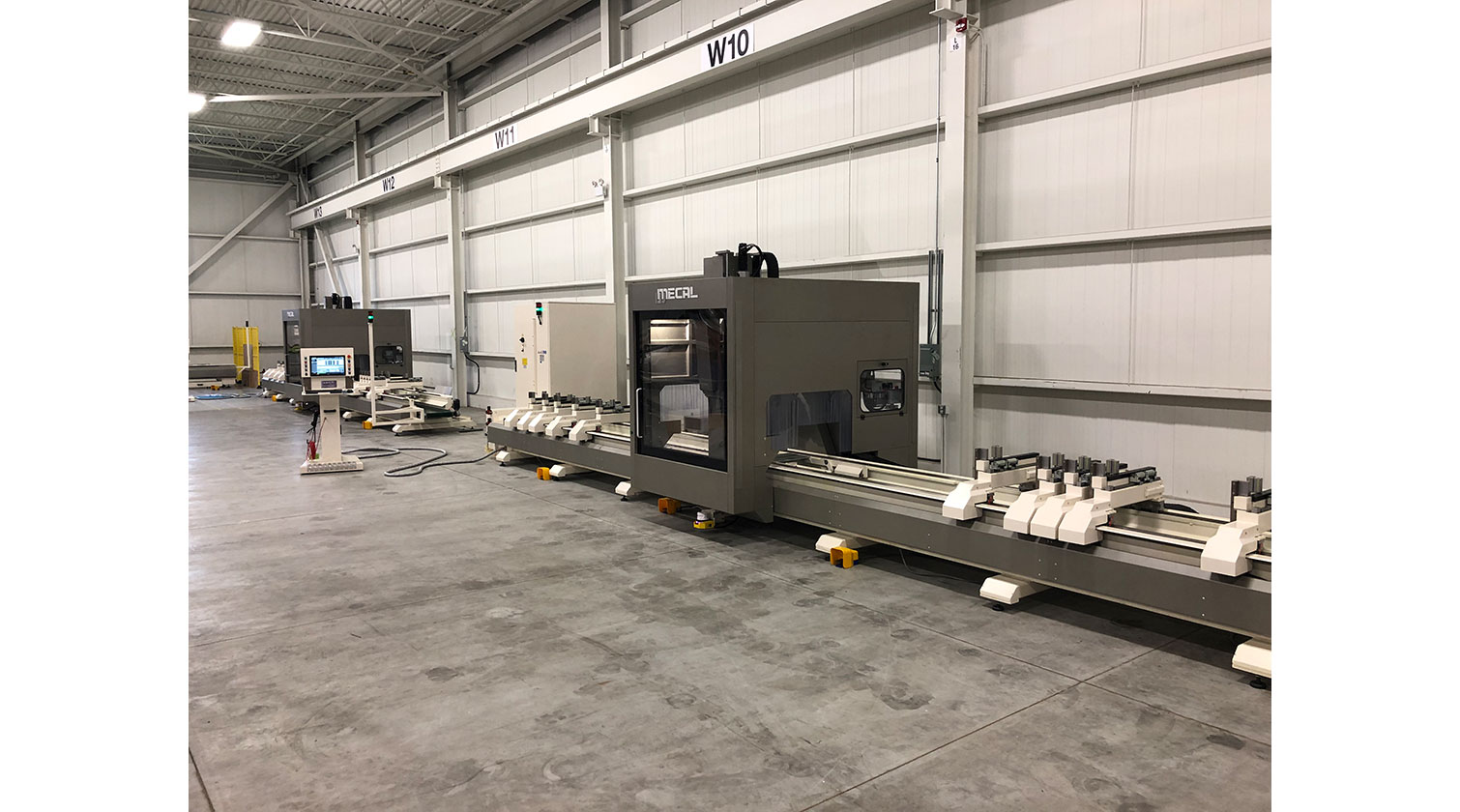 INT aluminum CNC Mecal Geos 5 axes installed in Windsor ON 1