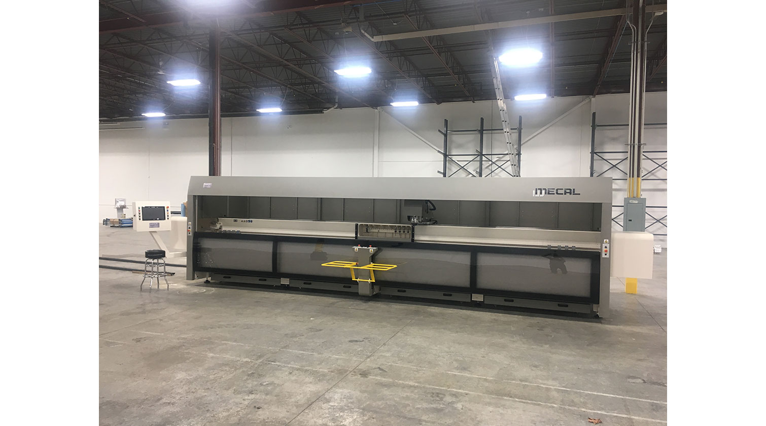 INT aluminum CNC Mecal Gianos installed in Concord ON 1