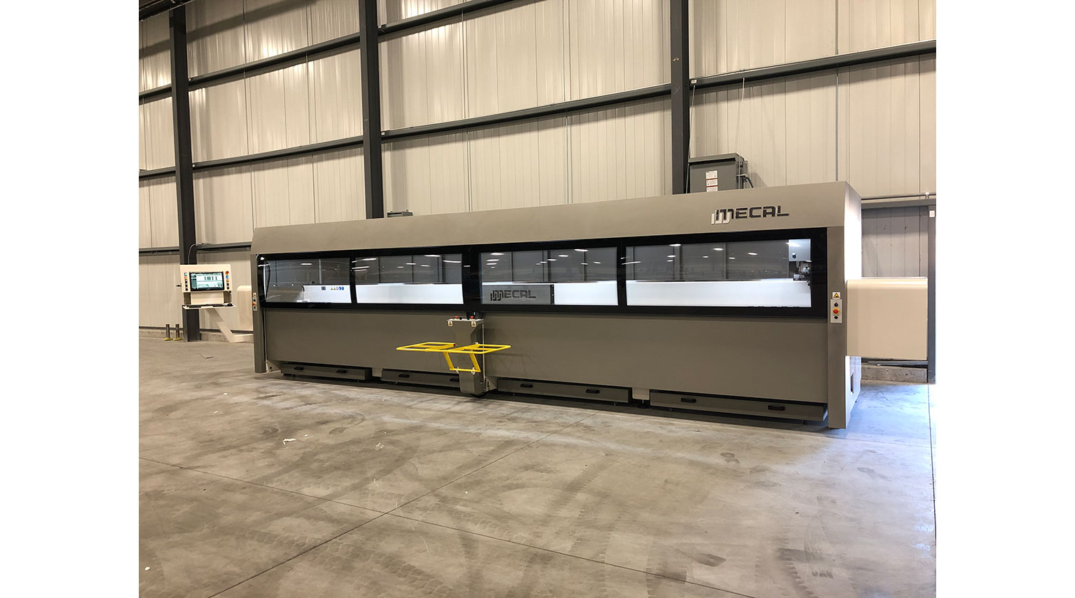 INT aluminum CNC Mecal Gianos installed in Windsor ON 1