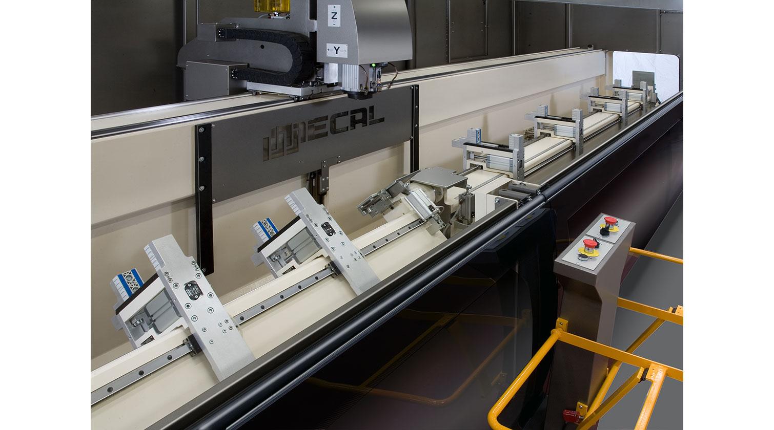INT aluminum CNC Mecal Gianos rotating beams 1