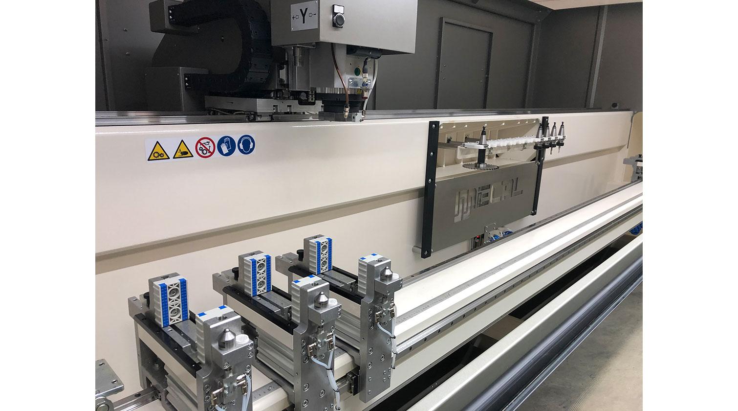 INT aluminum CNC Mecal Kosmos DPM clamps 1