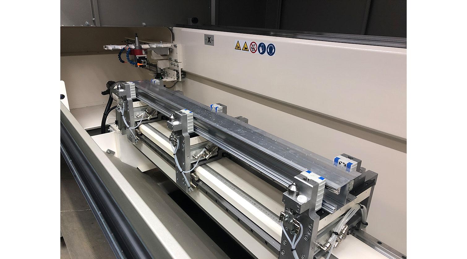 INT aluminum CNC Mecal Kosmos DPM clamps with extrusion 1
