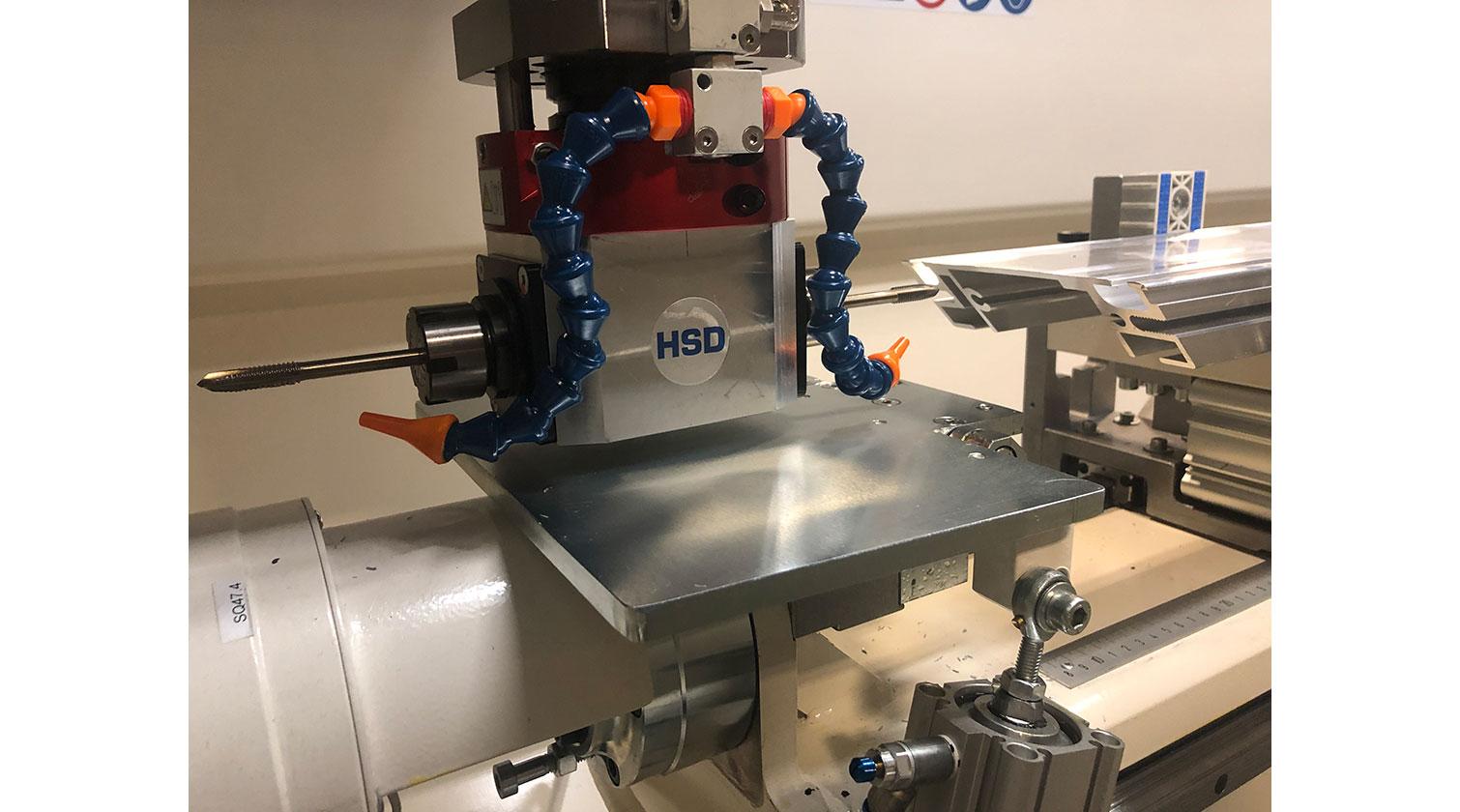 INT aluminum CNC Mecal Kosmos HSD aggregate 1