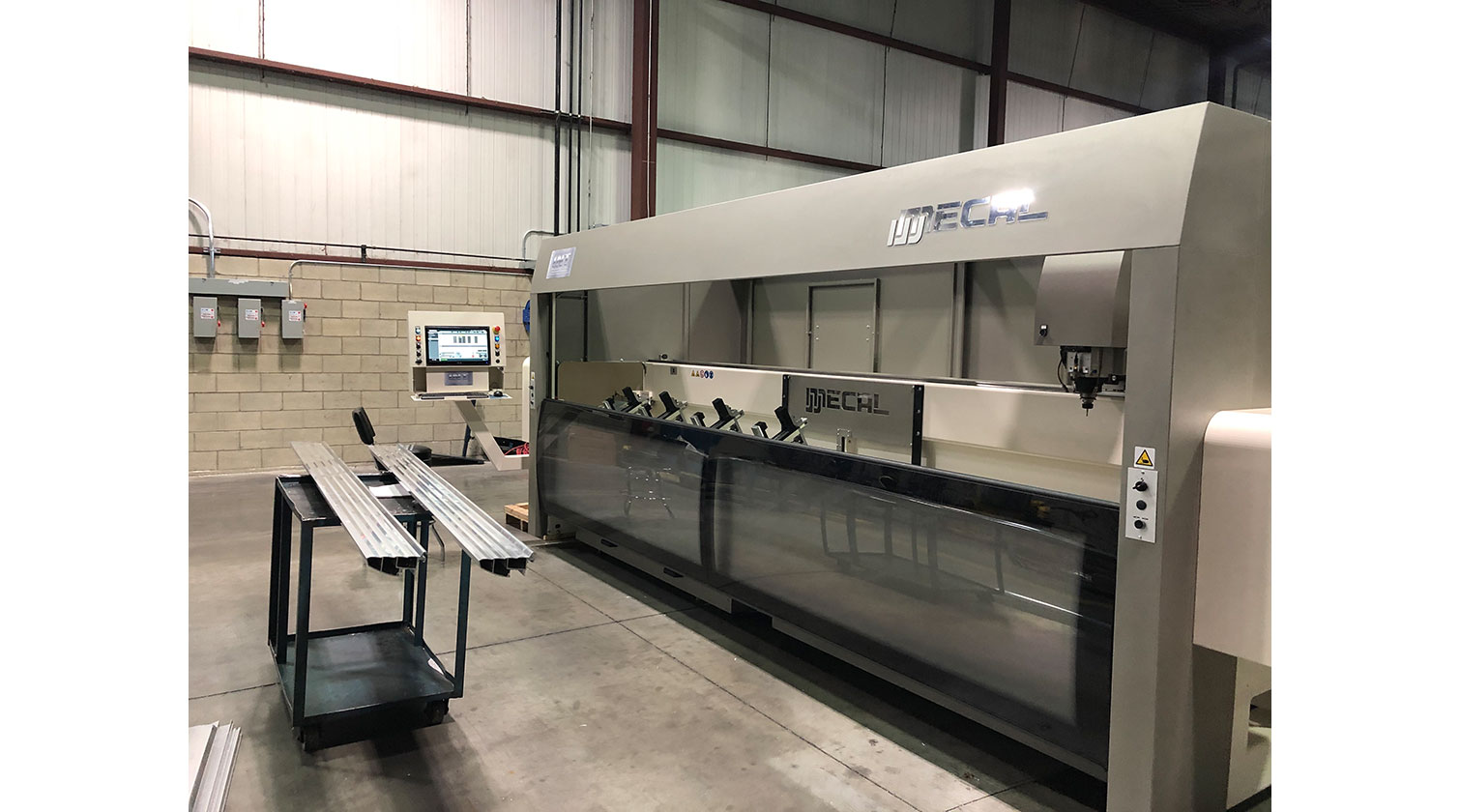 INT aluminum CNC Mecal Kosmos installed in Windsor ON 1