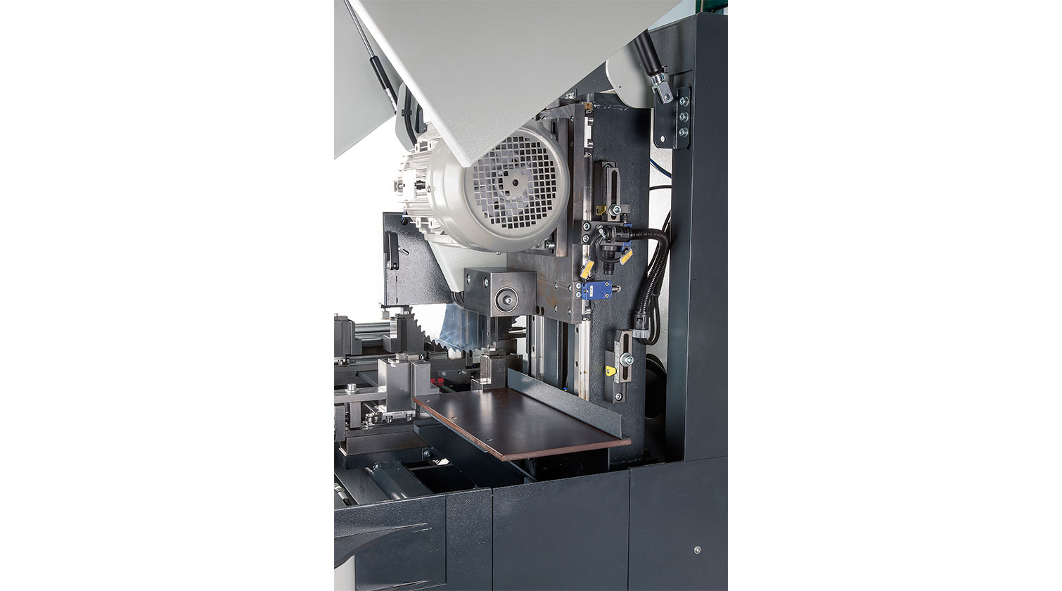 INT aluminum automatic saw Pressta Eisele Profilma 250 blade motor