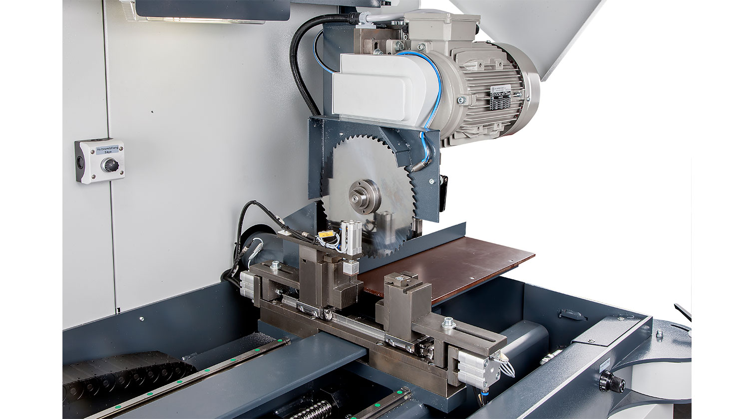 INT aluminum automatic saw Pressta Eisele Profilma 250 cutting blade