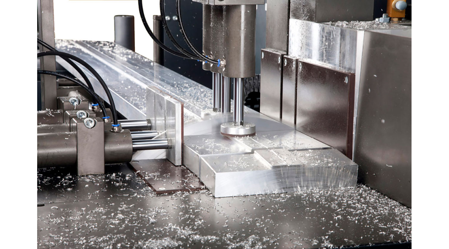 INT aluminum automatic saw Pressta Eisele Profilma 501 cutting thick material