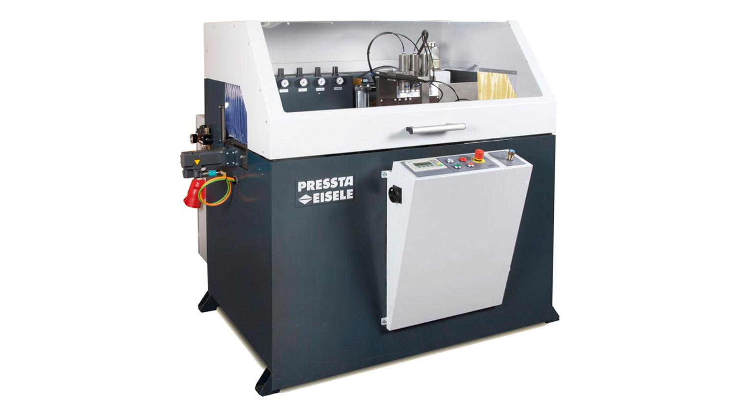 INT aluminum automatic saw Pressta Eisele Profilma 501