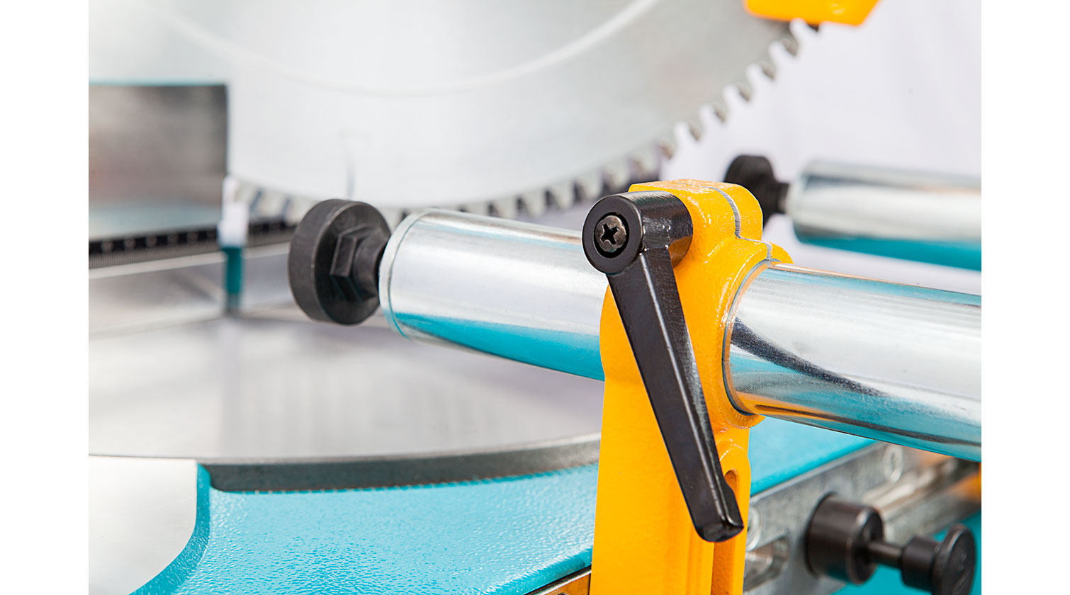 INT aluminum chop saw Yilmaz KD 400 PS horizontal clamping