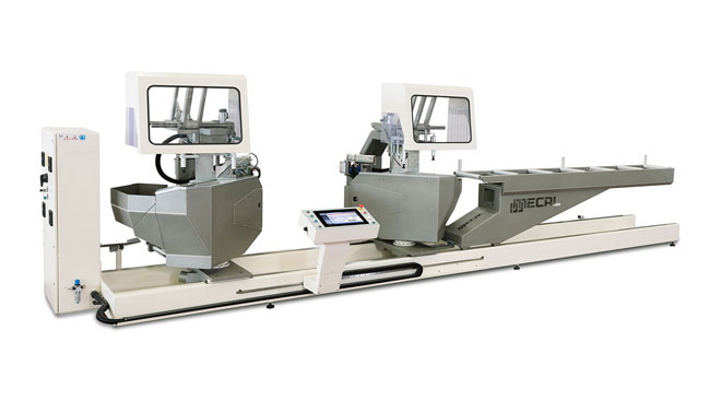 INT aluminum compound double mitre saw Mecal TDC 622 Edgemaster Thumb