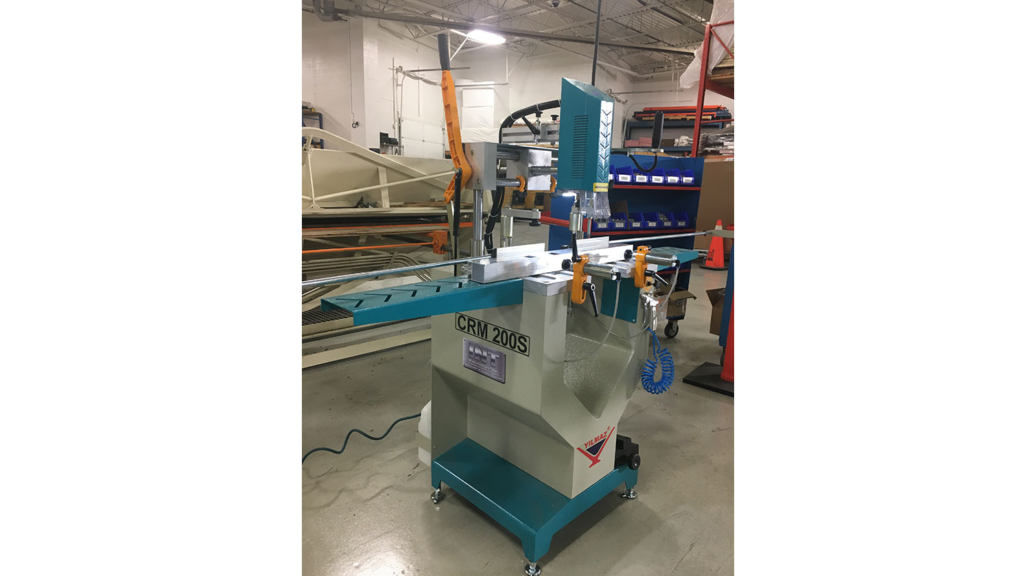 INT aluminum copy router Yilmaz CRM 200 S installed in Vaughan ON 1