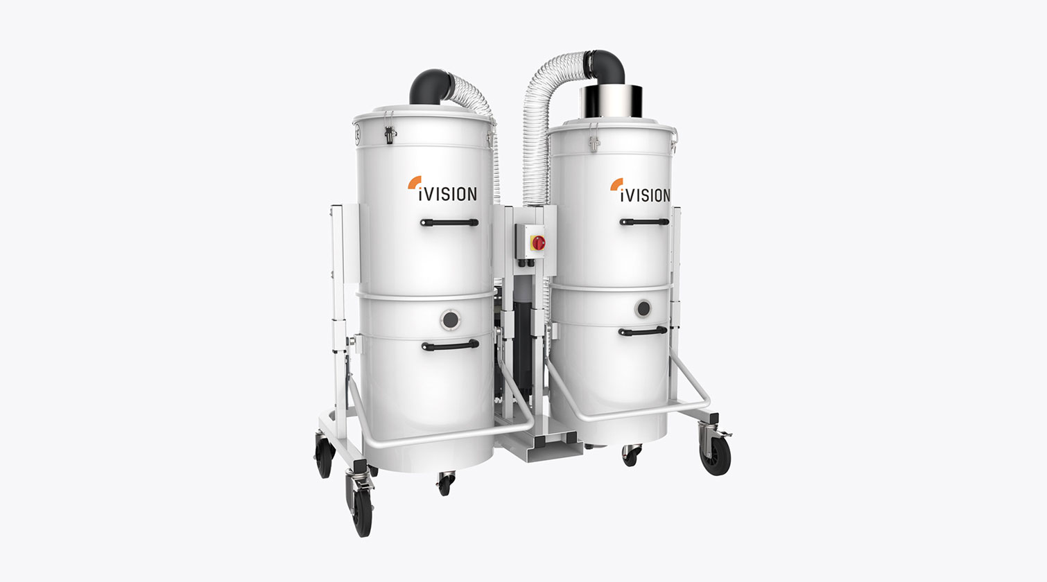 INT aluminum dust collector iVision iV double