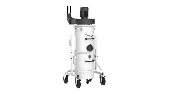 INT aluminum dust collector iVision iV2 Thumb