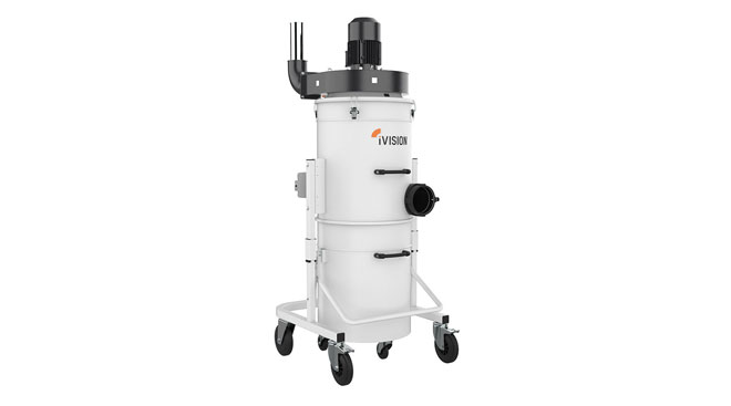 INT aluminum dust collector iVision iV3 Thumb