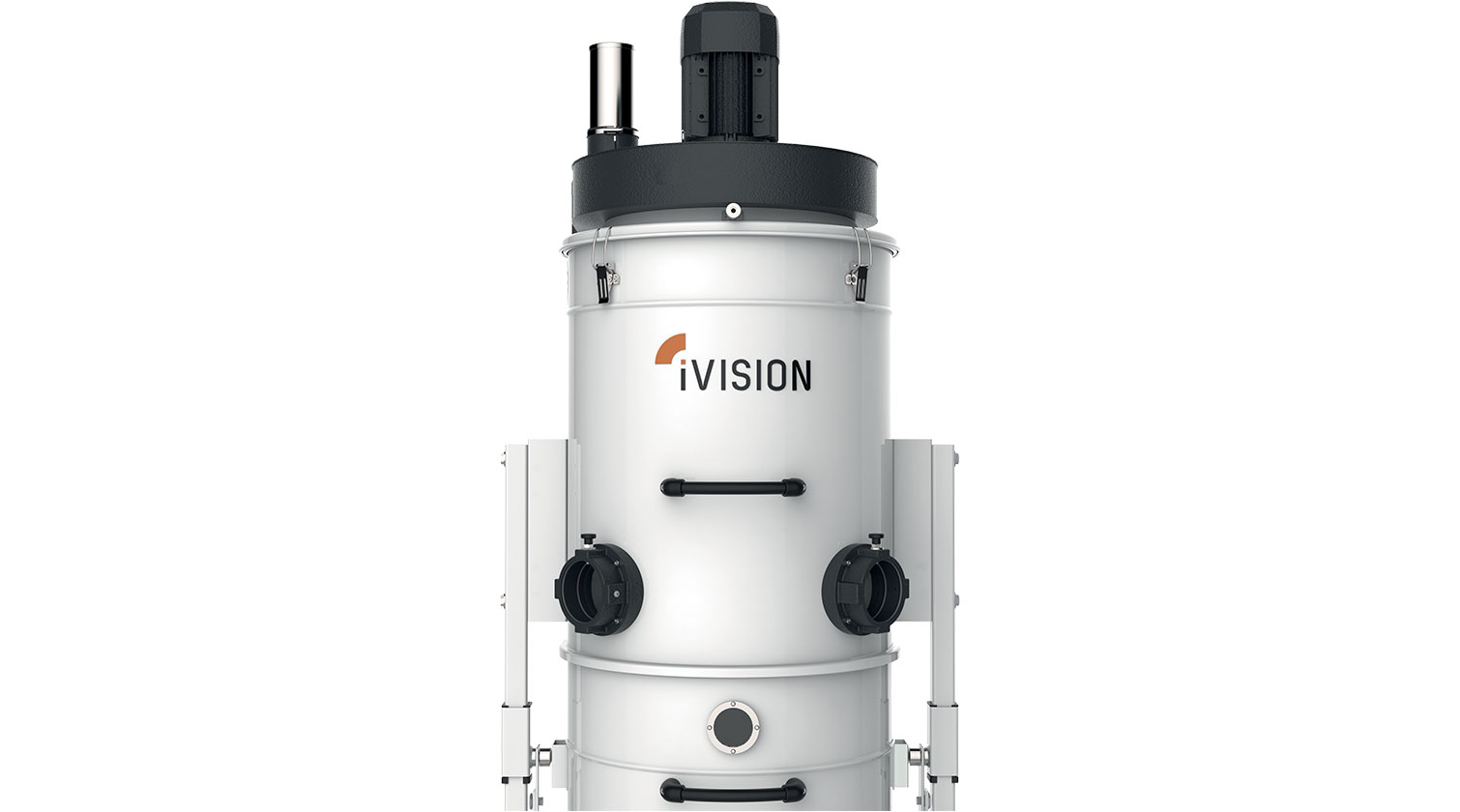 INT aluminum dust collector iVision iV3 inlets