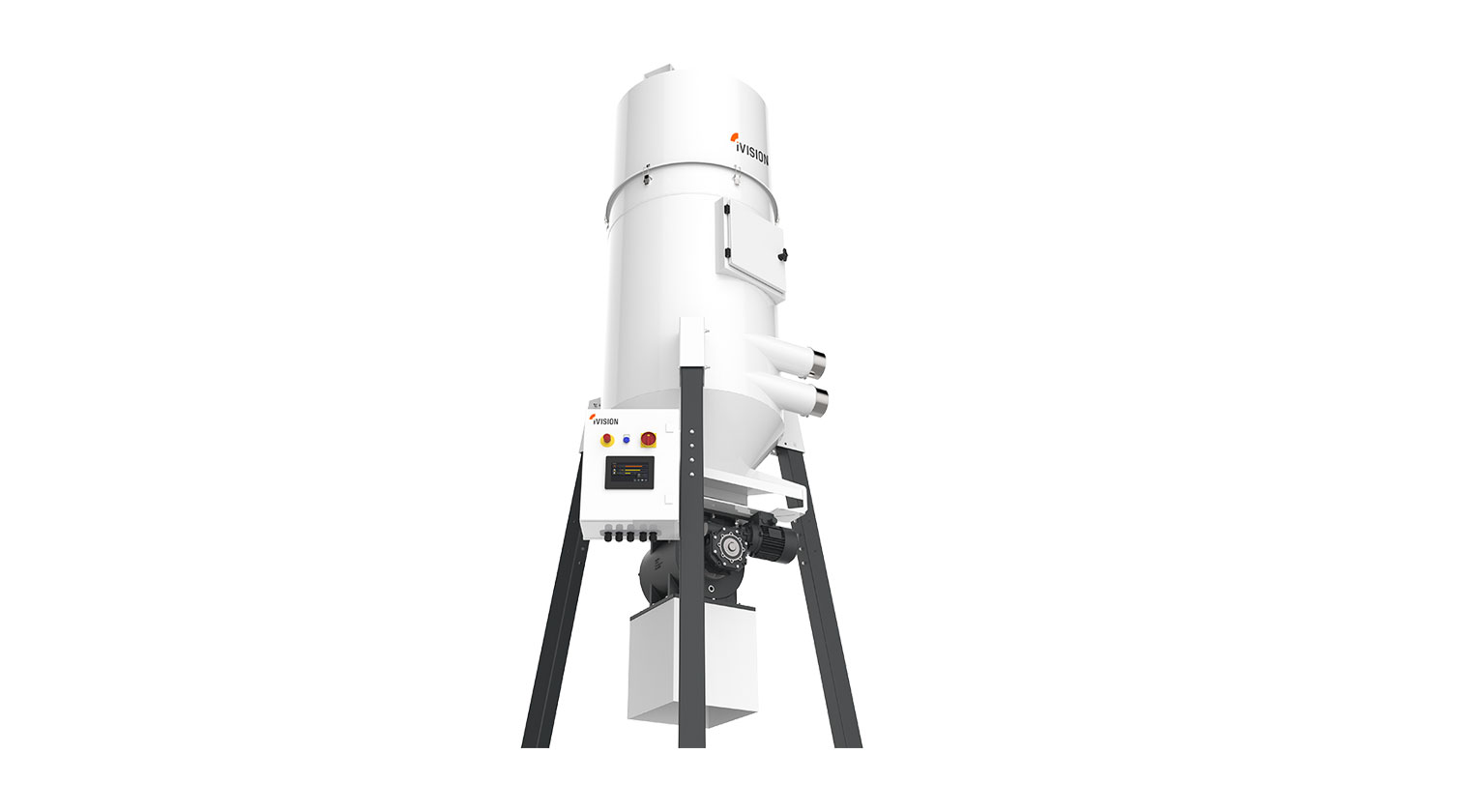 INT aluminum dust collector iVision iV5 b