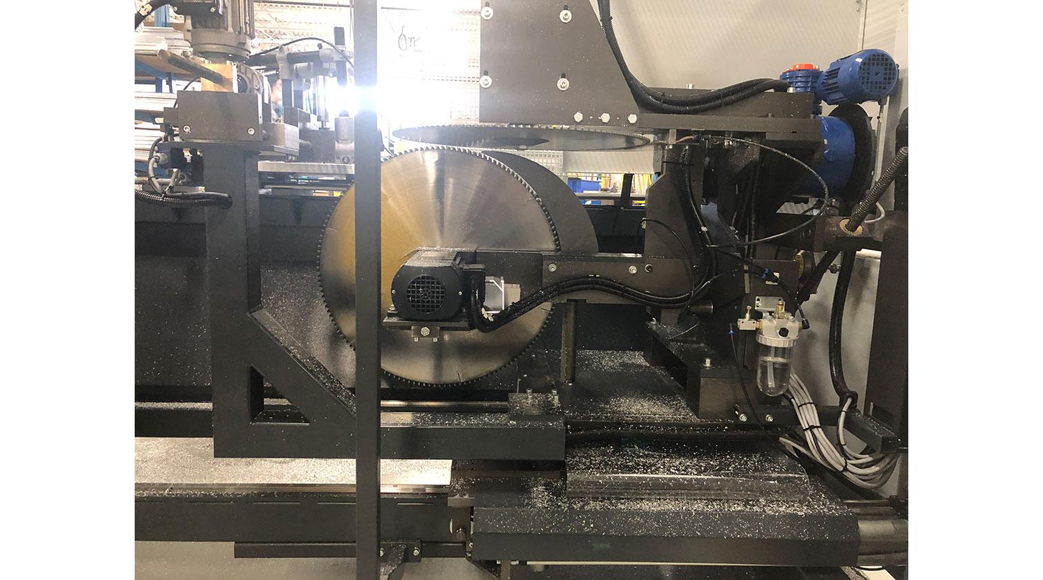 INT aluminum notching saw Pressta Eisele Prisma 650 cutting blades