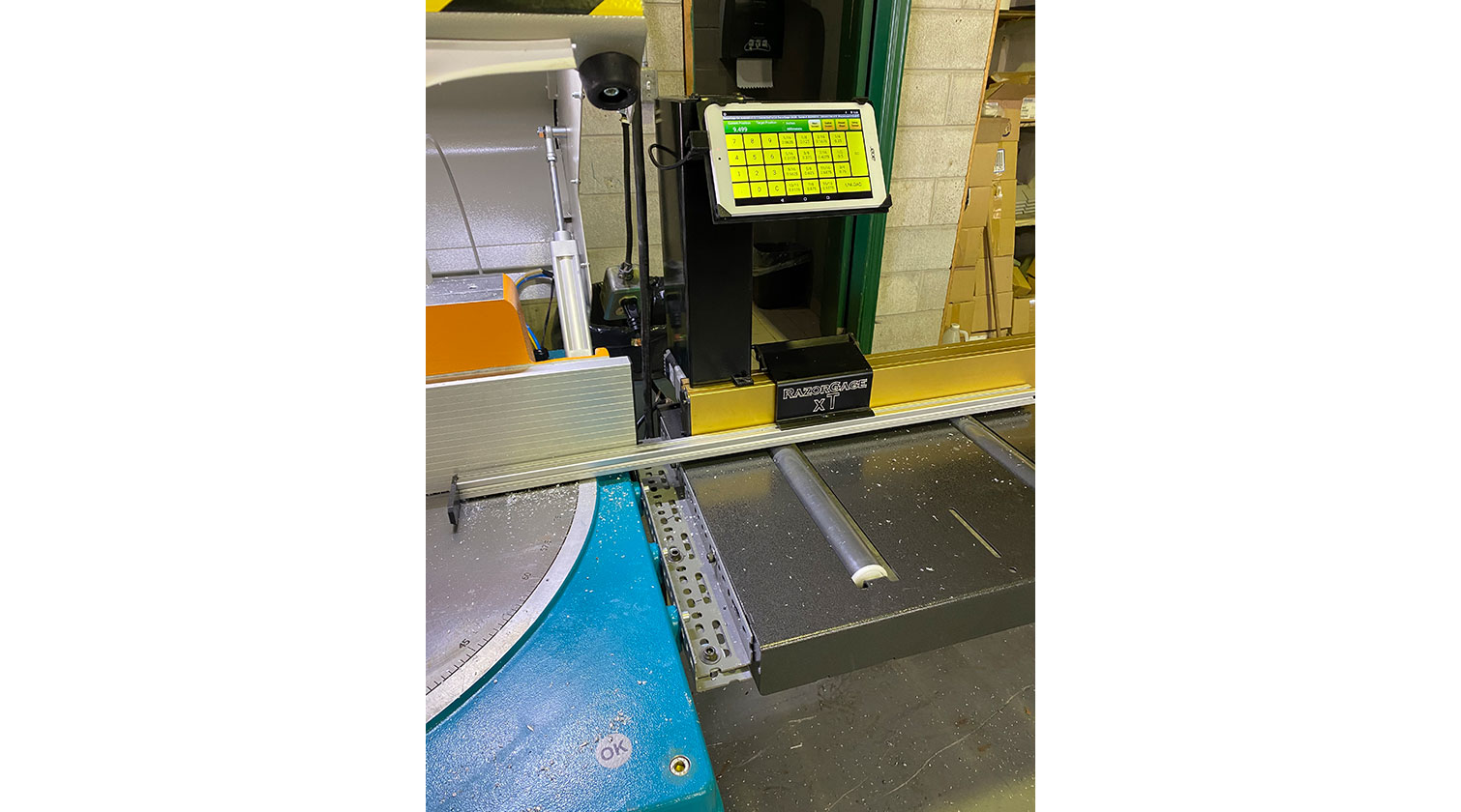 INT aluminum positioner Razorgage xT 12 Android installed in Windsor ON