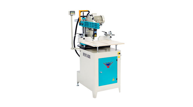 INT aluminum radial arm compound saw Yilmaz RYK 420 Thumb