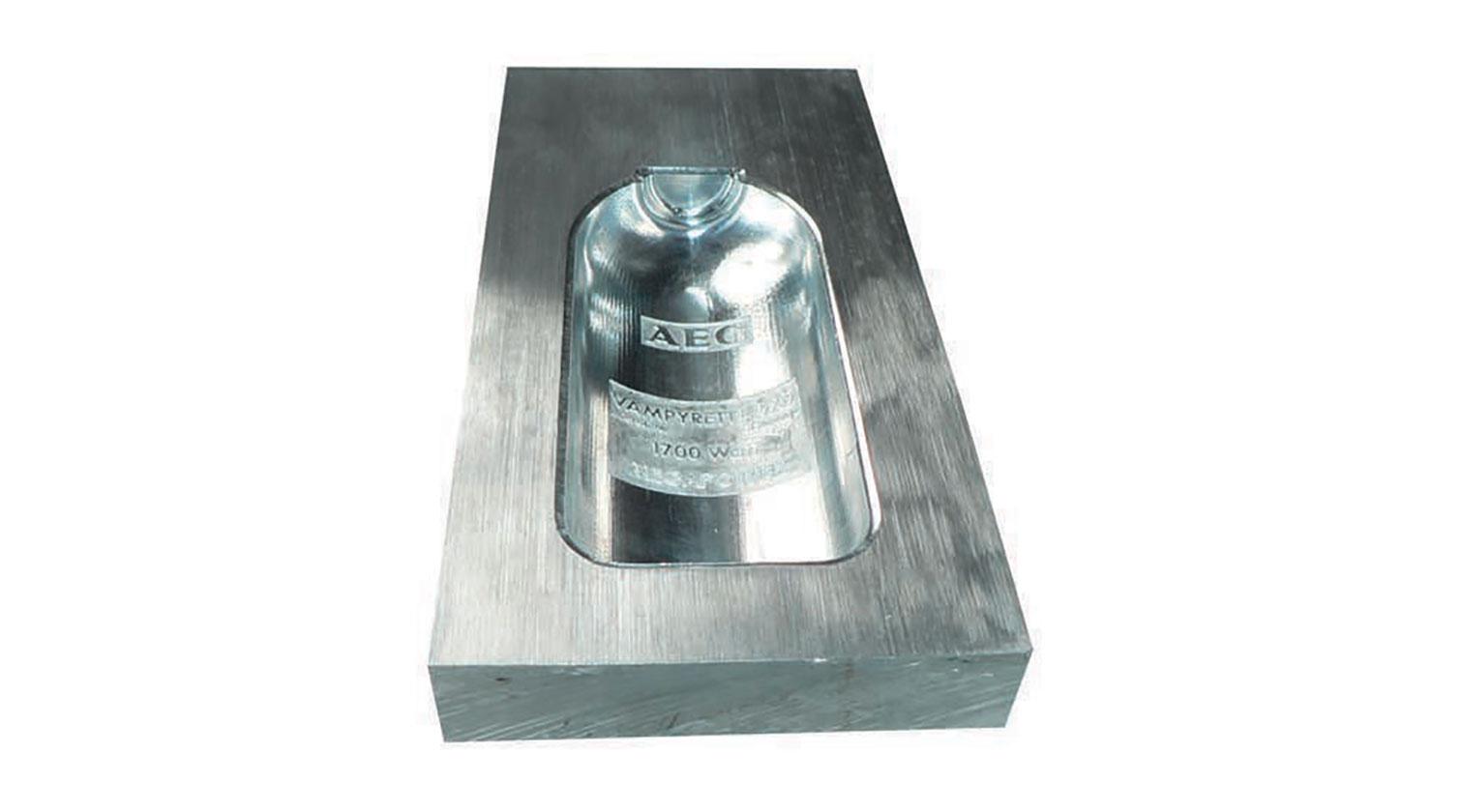 INT micro milling rapid prototyping CNC Imes Icore Platinum X3 aluminum 1