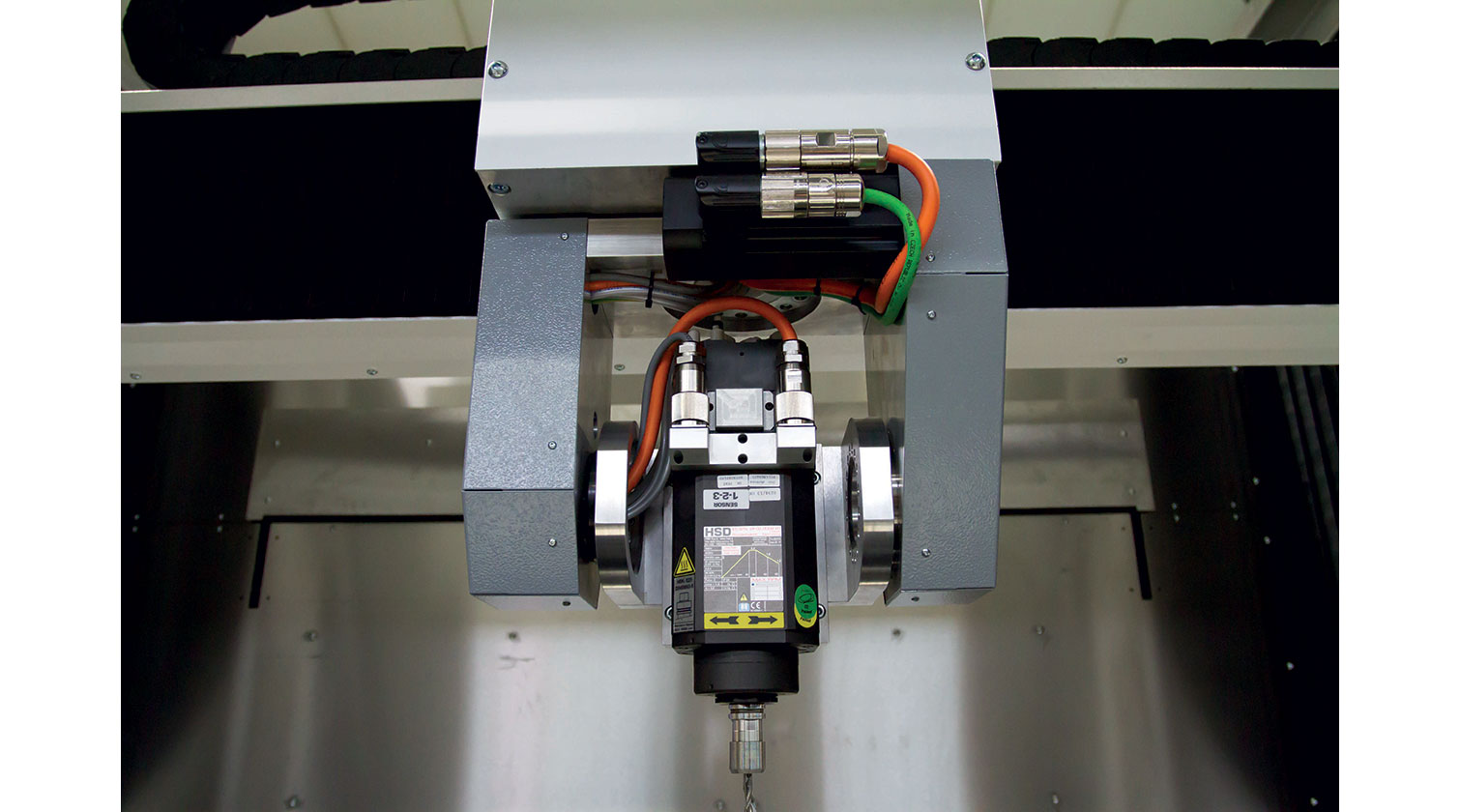 INT micro milling rapid prototyping CNC Imes Icore Platinum X5 spindle