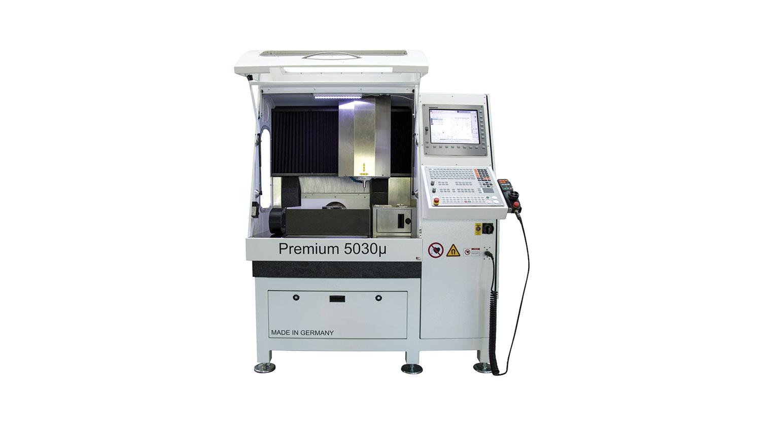 INT micro milling rapid prototyping CNC Imes Icore Premium 5030µ