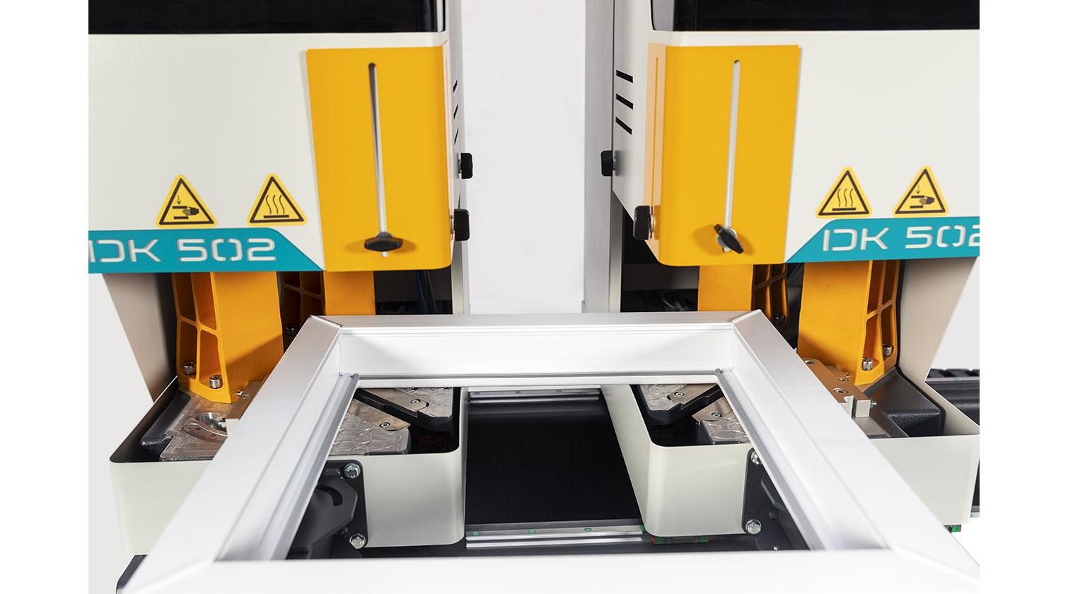 INT pvc windows two point welder Yilmaz DK 502 with frame