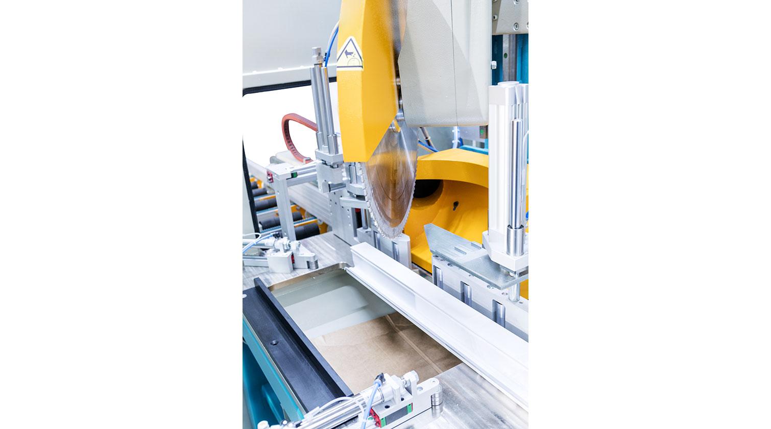 INT PVC window CNC Yilmaz PIM 6508 saw blade