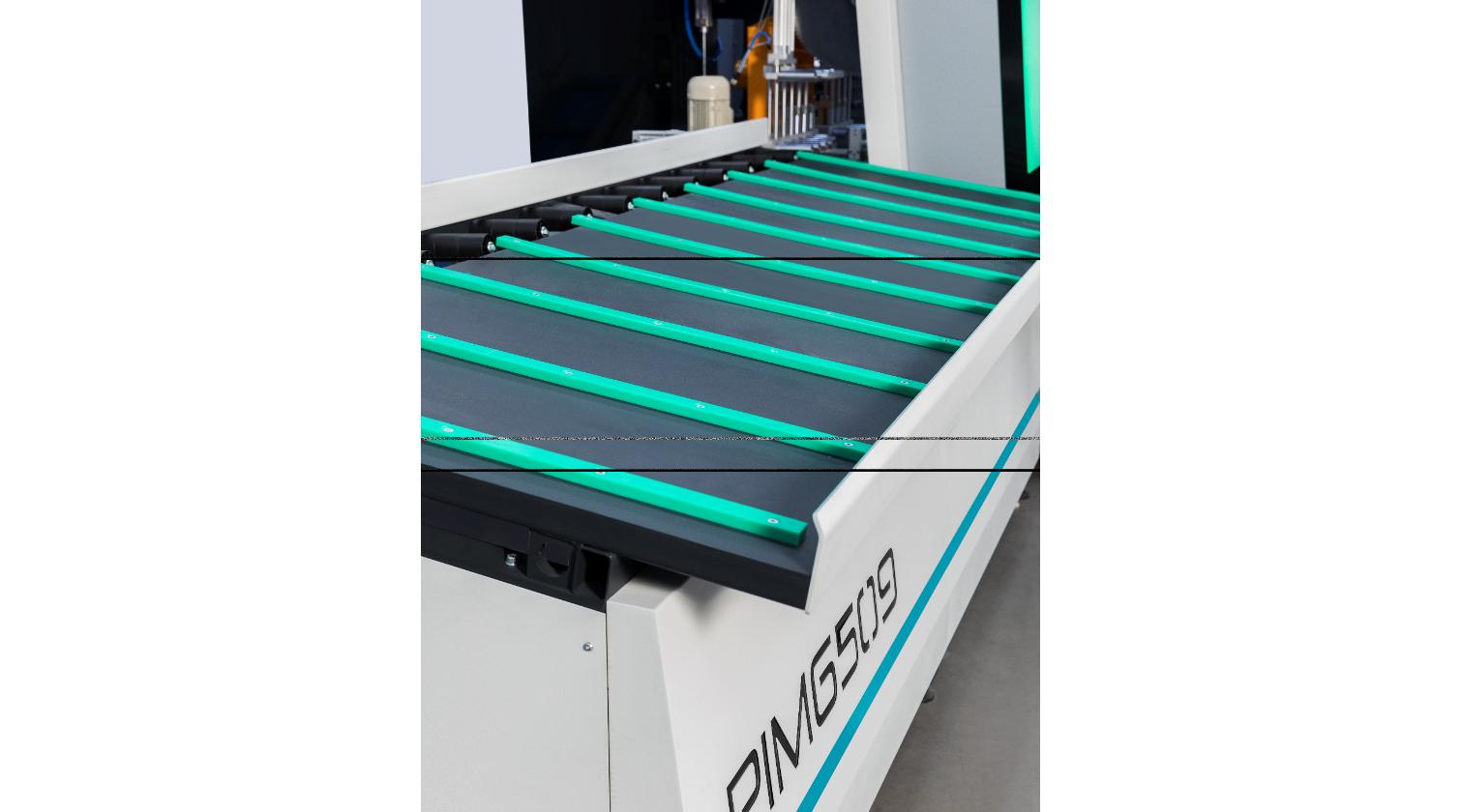 INT PVC window CNC Yilmaz PIM 6509 unloading table