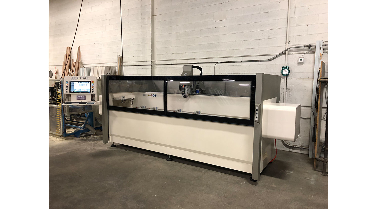 INT aluminum CNC Mecal Aydo installed in Vaughan ON 1