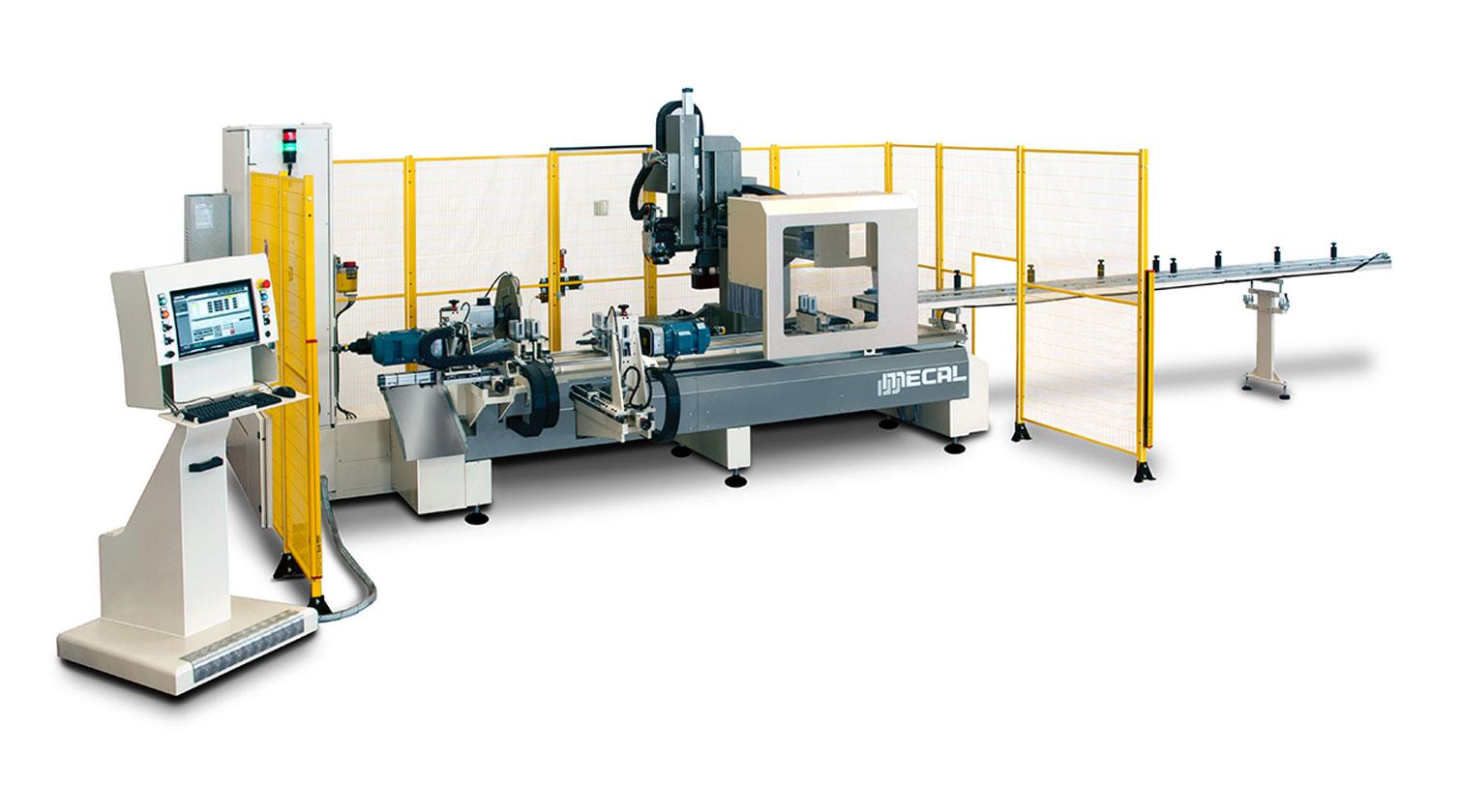 INT aluminum CNC Mecal FM 311 fabrication centre 1