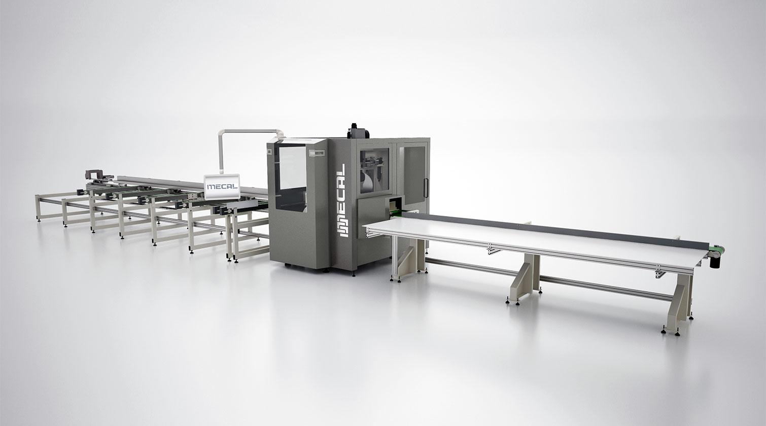 INT aluminum CNC Mecal MC 316 fabrication centre 1