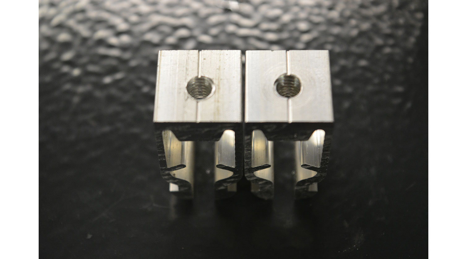 INT aluminum automatic cutting and drilling tapping Pressta Eisele Profilma 501 BG cut parts c