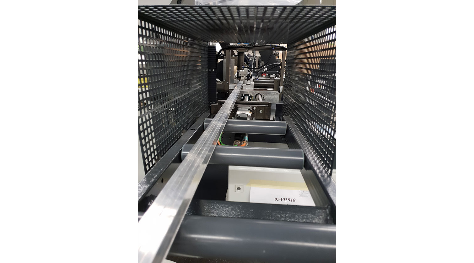 INT aluminum automatic cutting and drilling tapping Pressta Eisele Profilma 501 BG safety guards a