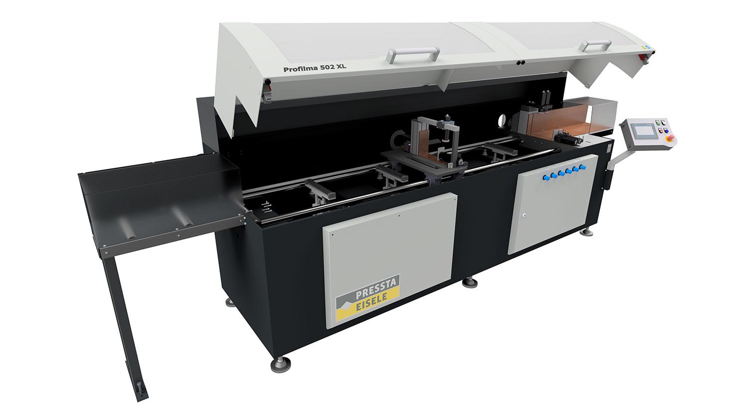 INT aluminum automatic saw Pressta Eisele Profilma 502 XL