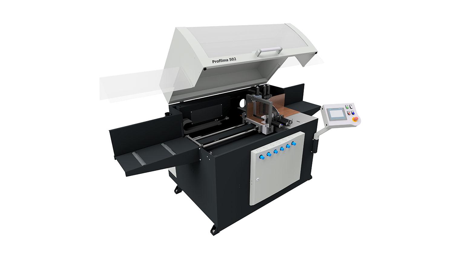 INT aluminum automatic saw Pressta Eisele Profilma 502