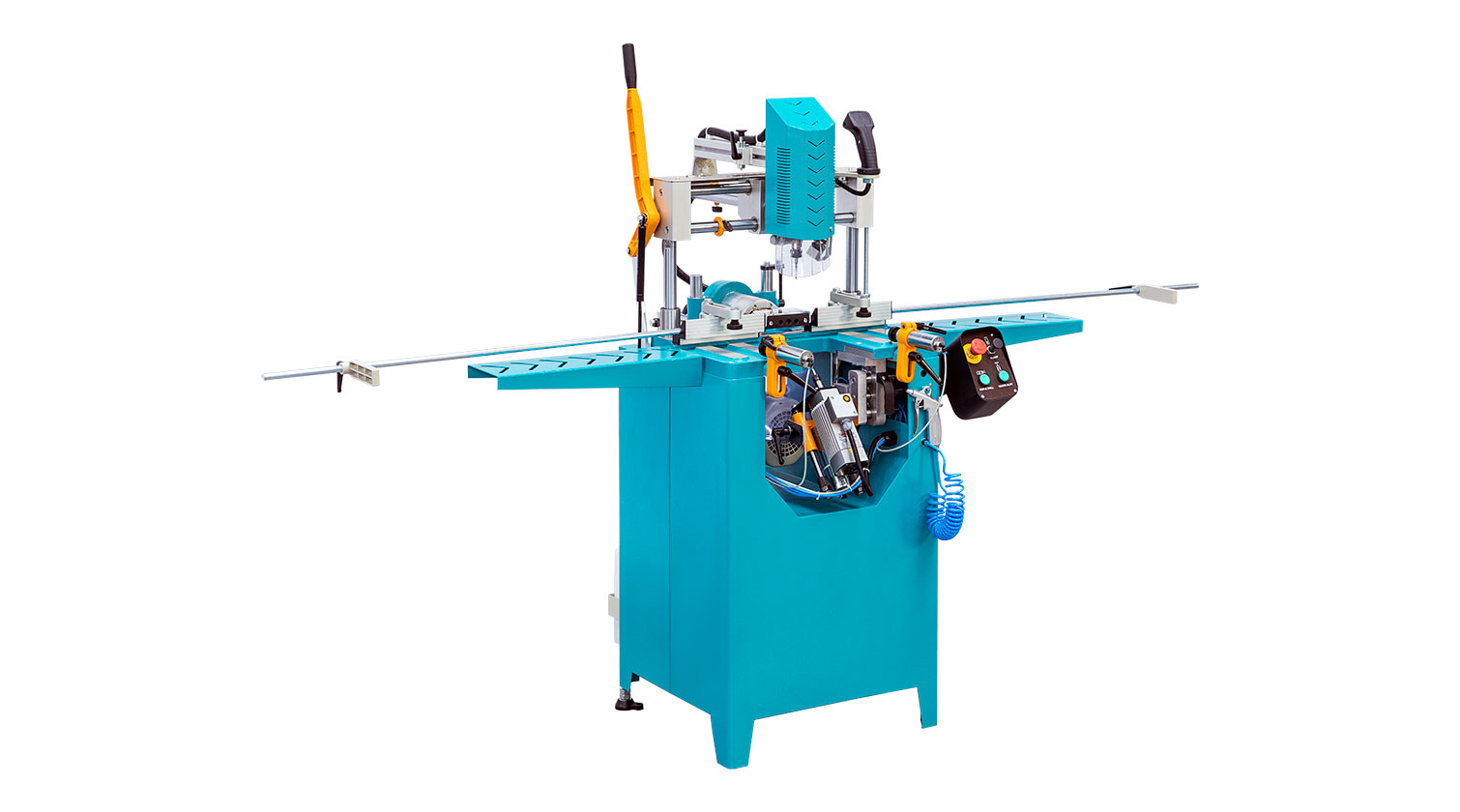 INT aluminum copy router Yilmaz CRM 201 S triple drill tilt and turn