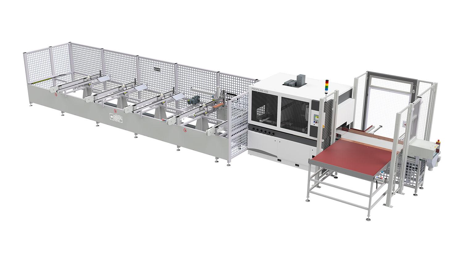 INT aluminum cutting centre Pressta Eisele Profilma 620 1