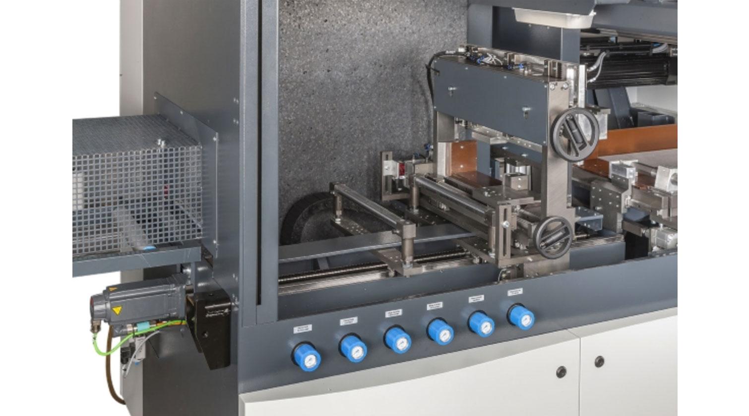 INT aluminum cutting centre Pressta Eisele Profilma 620 feeding mechanism