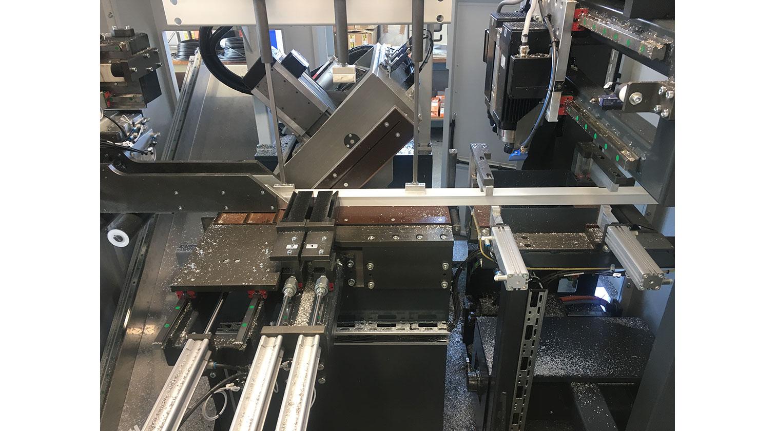 INT aluminum cutting centre Pressta Eisele SW 600 mitre cut c