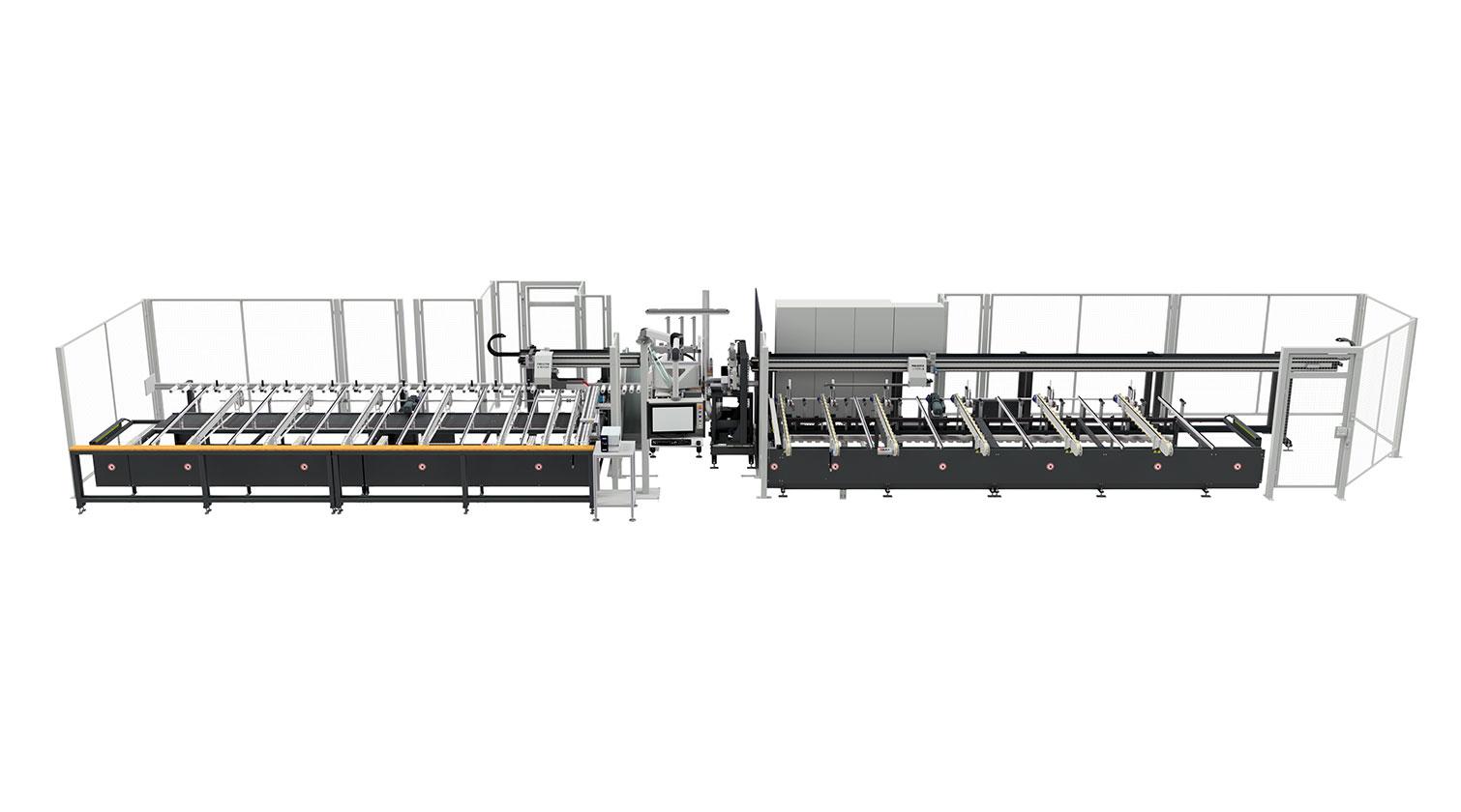 INT aluminum cutting centre Pressta Eisele SW 600