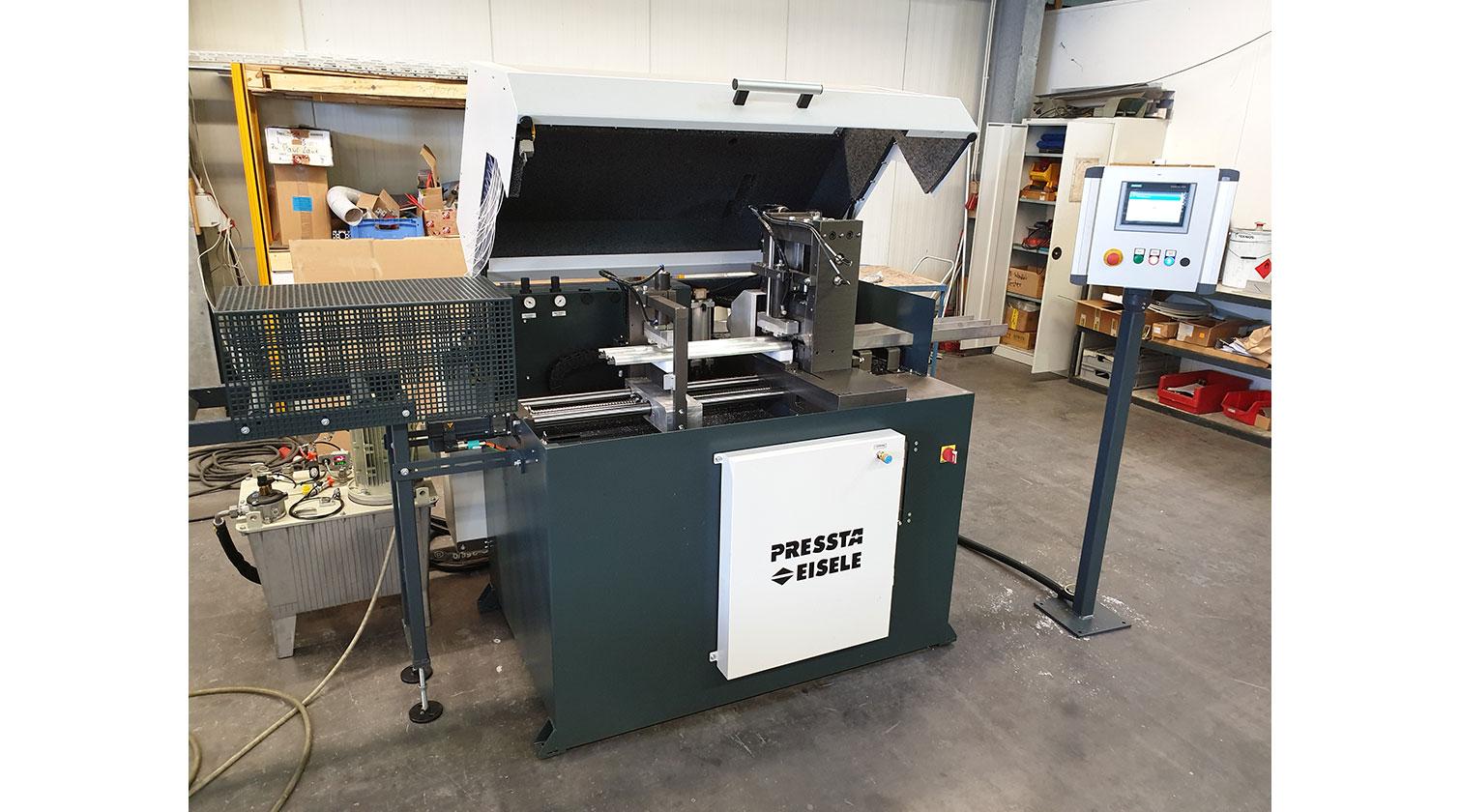 INT aluminum cutting punching centre Pressta Eisele Profilma 501 E ST c
